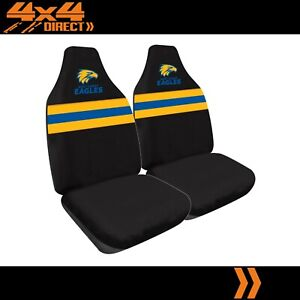 WEST COAST EAGLES OFFICIAL AFL™ LICENSED SEAT COVERS AIRBAG COMPATIBLE