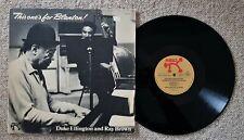 DUKE ELLINGTON AND RAY BROWN - THIS ONE'S FOR BLANTON! - GERMAN PRESS PABLO LP
