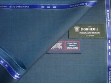 DORMEUIL <PANORAMIC MOHAIR> 85% WOOL WORSTED & 15% MOHAIR SUITING FABRIC - 3.4 m