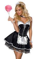 Sexy Dienstmädchen, Zimmermädchen Kostüm, Maid, Modell Jane
