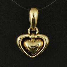 Designer Herz Clip der Marke Chimento   9,8g 750/- Gelbgold