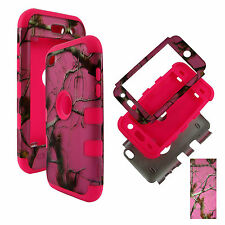Hybrid Pik Camo Conifer 3 in 1 Apple iPod Touch 4 4th Gen Case Cover
