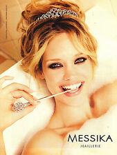 PUBLICITE  2012   MESSIKA  joaillerie bijoux