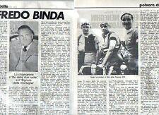 MA105-Clipping-Ritaglio 1972 Alfredo Binda