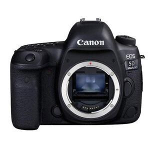 """Canon EOS 5D Mark IV Body 30.4mp 3.2"""" 2016 DSLR Camera New Cod Agsbeagle"""
