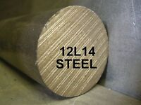 "12L14 1-1/2"" x 12"" ROUND BAR STEEL STOCK FOR SOUTH BEND LATHE CNC MACHINE SHOP"