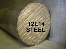 "12L14 1-1/2"" x 24"" ROUND BAR STEEL STOCK FOR SOUTH BEND LATHE CNC MACHINE SHOP"