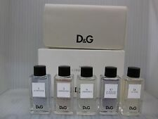 D&G PARFUM MY COLLECTION GIFT SET IN POUCHE:5 Pieces Variety 0.67oz / 20 ML Each