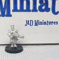 GW Citadel Warhammer 40,000 40k Imperial Guard Mordian Iron Guard w. Flamer OOP