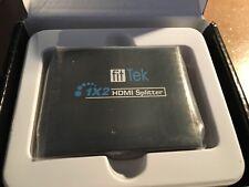 1x2 Hdmi Splitter Ver 1.3 Fit Tek Selector Switch Box VK-102  T2
