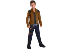 Kids Han Solo Dress Up Costume from Solo A Star Wars Story Size M 8-10