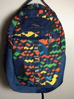 High Sierra Backpack Multi-compartment School Bag Day Pack Multi Color