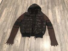 Dolce Gabbana Daunen Hoodie Jacke Strick Down Jacket Sweat S.52 D&G