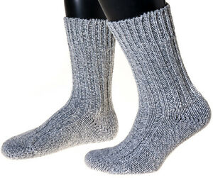 Schafwollsocken, Made in Germany, Norweger, wie handgestrickt,
