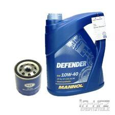 5 Liter Mannol 10W-40 Defender Motoröl + Ölfilter VW Golf III 1H Polo 6N 86C 9N