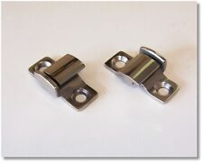 Ford Chevrolet Plymouth Stainless Hood Hinge Brackets 1932 1933 1934 1935 1936