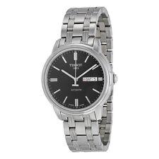 Tissot Automatics III Black Dial Steel Mens Watch T065.430.11.051.00