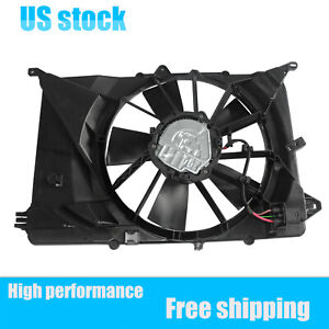 1x Brand New Radiator Fan Assembly For 2016-2020 Jeep Compass 2.4L 68249185AD