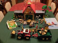 Playmobil Großer Bauernhof III 4490-A/2005/Großer Traktor 4496-A/2005, ohne OVP!