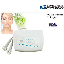 Ultrasound Ultrasonic Facial Body Pain Therapy Relief Massager Home SPA Relief