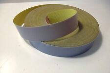7716) PTFE, teflón, politetrafluoroetileno, gris claro, Cinta adhesiva, 0,3mm X