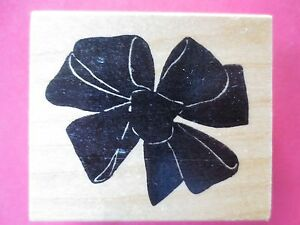 rubber stamp by happy stamper BOW