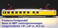 MBT H0, Freelance Leistungsmeßwg. 1:87, LüP ca.30,5cm,Nr.92005-9