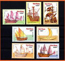 Vietnam - Ancient Boats/ Ships/Transportation/Sailing Boats/ Vessel  595 MNH