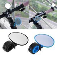 Bike Bicycle Cycling Universal Adjustable Rear View Mirror Handlebar Rearview AE
