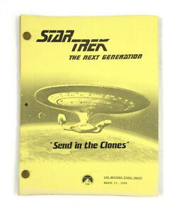 """STAR TREK:TNG ORIGINAL SCRIPT-""""Up the Long Ladder,"""" Written by Melinda Snodgrass"""