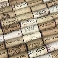 Natural USED Wine Corks Lot of 12 25 50 100 200 Variety Upcycle Craft Wedding