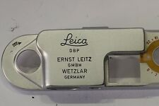 Leica IIIF Red Dial Top Plate with No Serial Number, Mint-, New Old Stock