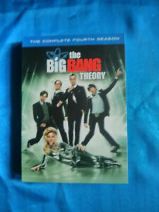 Big Bang Theory - The Complete Fourth Season (DVD, 2011, 3-Disc Set)