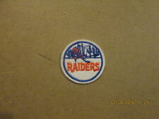 WHA New York Raiders Vintage Defunct 2 Inch Logo Patch