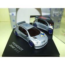 PEUGEOT 206 WRC PRESENTATION CAR 1998 Gris VITESSE SKM99001 1:43