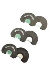 WoodHaven Ninja Diaphragm Turkey Calls 3 Pack WH091