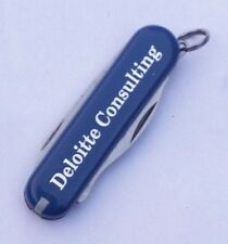 VTG VICTORINOX SWISS-ARMY KNIFE ' DELOITTE CONSULTING '