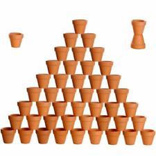 "Set of 48 Natural Pot Planter Plant 2"" Terracotta Ceramic Bulk Farmhouse Rustic"