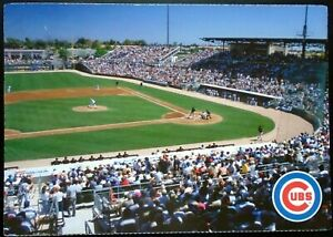 """1980s """"Greetings from Chicago Cubs Spring Training"""" Baseball Field, Mesa, AZ"""