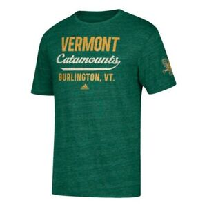 "Vermont Catamounts  NCAA ""Stenciled Sweep Vault"" Dark Green Tri-Blend T-Shirt"