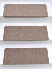 15er Set Stufenmatten Treppenmatten ANDES Beige RECHTECKIG ca. 65x24x4 cm