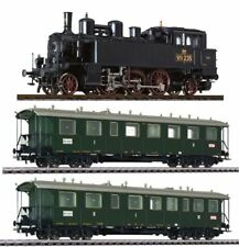 Liliput 131180  Tenderlok Lok. 'Baden' Nr. 235, Ep.I DC, mit 2 Personenwagen
