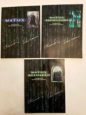 The Matrix Trilogy Screenplay Set--Wachowski Brothers--2004