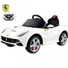 Ferrari Car F12 white Kids Ride on Car with RC MP3 12 V For Boys Kids