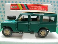 Vintage  -  LAND ROVER  SW    - 1/25  Polistil  S649  - Made in Italy 1979