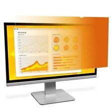 """Gold Frameless Privacy Filter For 19"""" Monitor 3M Reversible 14.89 x11.89 Desktop"""