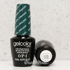 OPI GelColor Brazil Glamazons Collection 2014- AMAZON... AMAZOFF GC A64 Ship 24H