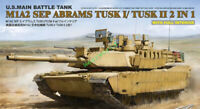 RYE RM5026 1/35 M1A2 SEP ABRAMS TUSK I/TUSK II 2 IN 1 With Full Interior