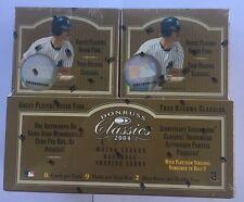 2004 Donruss Classics Factory Sealed Baseball Hobby Box