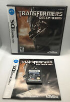 Transformers Deceptions - Complete CIB - Nintendo DS